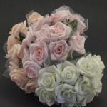 Penove ružičky tyl